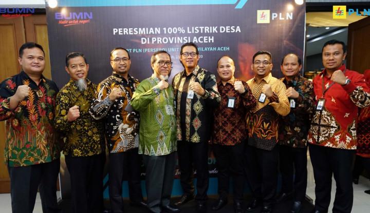 PLN Klaim Sukses 100% Alirkan Listrik Desa Berlistrik di Provinsi Aceh - Warta Ekonomi