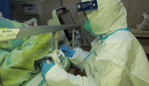 Foto Mayat Korban Virus Corona Dibiarkan di Koridor