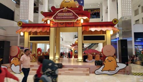 Gudetama Ramaikan Perayaan Imlek di Mall of Indonesia