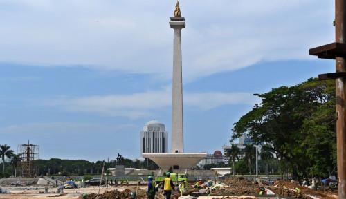 Foto Mensesneg Ngaku Tak Terima Surat dari Bang Anies soal Revitalisasi Monas