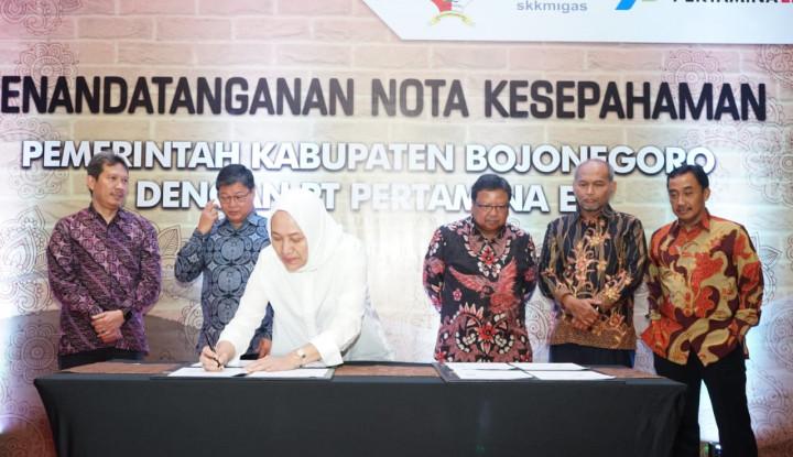 Sah! Pertamina EP Siap Ngebor Minyak di Kabupaten Bojonogoro - Warta Ekonomi