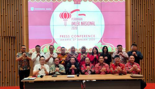 29 Raja Nusantara Diundang Perayaan Imlek Nasional