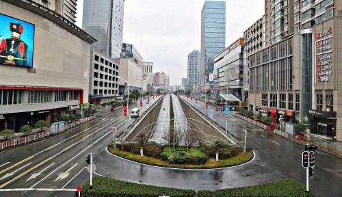 Foto 243 WNI Terjebak di Wuhan, Pemerintah Akan Lakukan...