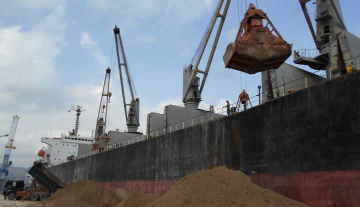 Pelindo I Malahayati Aceh Lepas Ekspor Pozzolan ke Bangladesh