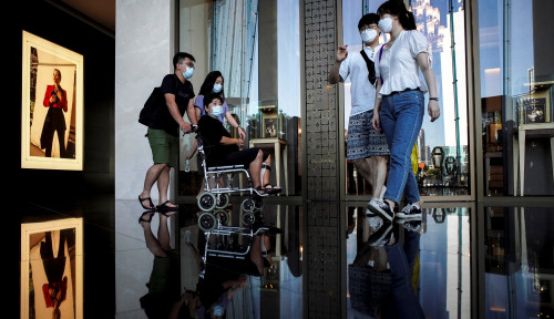 Foto Marah-marah, Warga Thailand Tuntut Pemerintahnya Kerja Lebih Becus Atasi Virus Corona