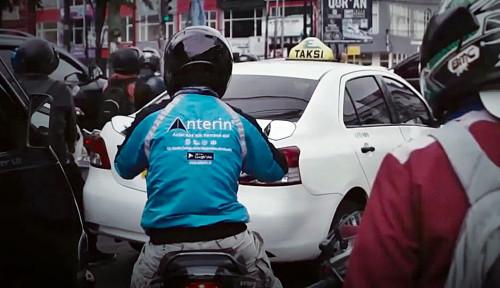 Foto Dicaplok Anak Usaha Hary Tanoe, Gimana Nasib Driver Ojol Anterin?