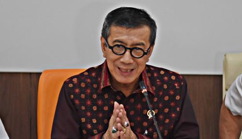 Foto Menhub Sudah Terjangkit, Hasil Tes Kesehatan Menteri Yasonna...