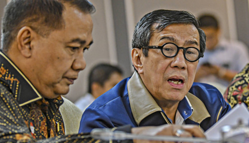 Foto Yasonna Akui Ada Kesalahan di RUU Omnibus Law