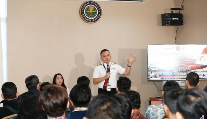 Tingkatkan Keselamatan Penerbangan, 14DAYPILOT Gelar Workshop - Warta Ekonomi
