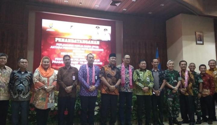 Moratelindo Garap Proyek Saluran Kabel Serat Optik di Semarang - Warta Ekonomi