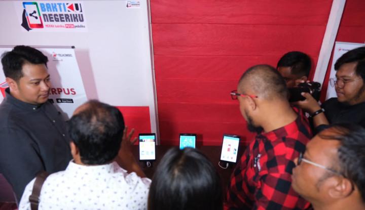 Tingkatkan Kualitas Pendidikan, Telkomsel Bangun T-Perpus di Desa Silalahi Sumut - Warta Ekonomi