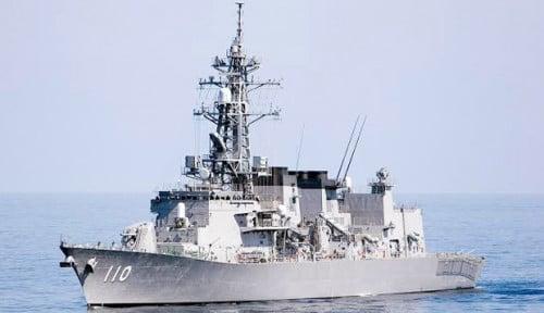Foto Di Pasifik, Kapal Perang China Gunakan Laser buat Tembak Jet Patroli AS