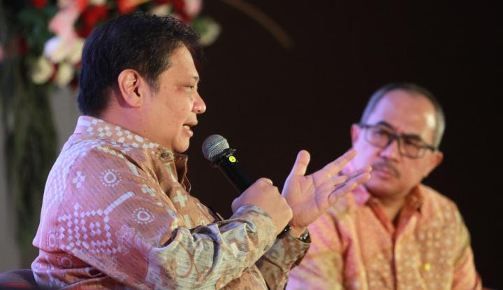 Ekonomi Nyungsep -5,32%, Eh Menteri Airlangga Dikepret Aktivis 98