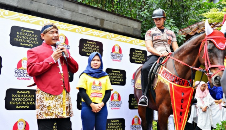 Nah Lho, Muncul Lagi Kerajaan Kesotoan Nusantara di Lebak Bulus - Warta Ekonomi