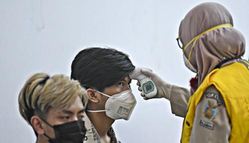 Foto Baru Pulang dari Thailand, Warga Korsel Dinyatakan Positif Virus Corona
