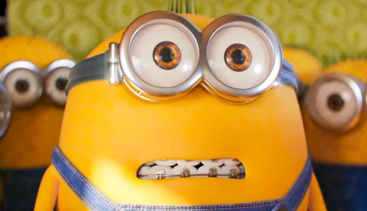 Minions: The Rise of Gru, Melihat Aksi Gru Kecil - Warta Ekonomi