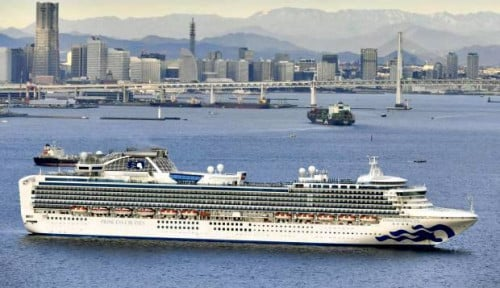 Foto Australia Bakal Bawa Pulang Ratusan Warganya di Kapal Diamond Cruise