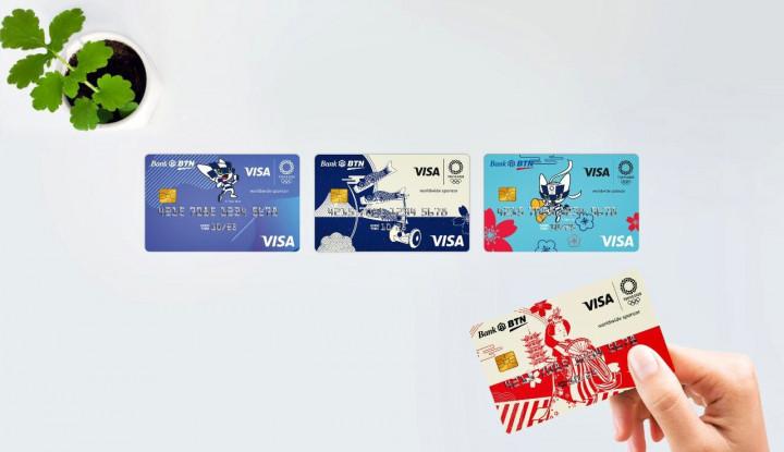 BTN Rilis Kartu Debit Bertema Olimpiade Tokyo 2020 - Warta Ekonomi