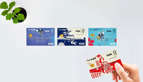 BTN Rilis Kartu Debit Bertema Olimpiade Tokyo 2020