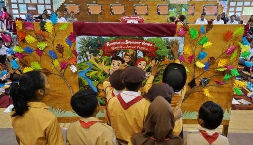 Foto Rumbun dan Sahabat Rimba, Buku Terbitan Sinar Mas Kampanyekan Pencegahan Karhutla