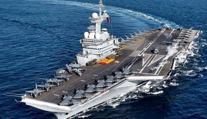 Militer Turki Gusar Dituduh Lecehkan Kapal Perang Prancis di Laut Mediterania