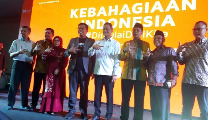 Rumah Zakat Luncurkan Gerakan Kebahagiaan Indonesia #DiMulaiDariKita - Warta Ekonomi