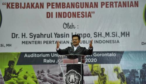 Foto Pesan Mentan untuk Mahasiswa Gorontalo: Lepas Selimut Kenyamanan untuk Arungi Samudera!