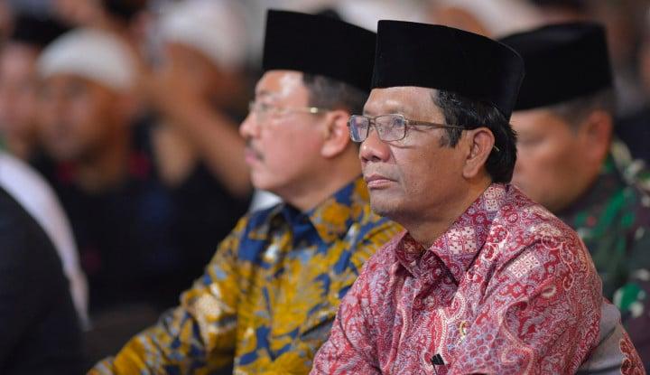 Mencuat Kabar Tap MPRS Soal PKI Dicabut, Tegas Mahfud MD: Percayalah, MPR Saja Tak Mampu