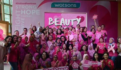 Foto Indonesia Peringkat 8 Kasus Kanker, Ini yang Dilakukan Watsons