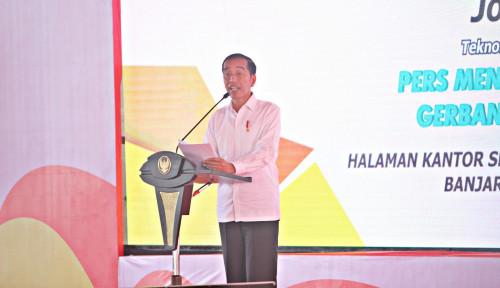 Foto Jokowi Bongkar Siapa yang Buat Dirinya Gugup dan Gagap