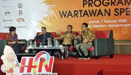 Foto Paparkan Hasil Positif 100 Hari Kerja Mentan, Kementan Tegaskan Sinergi dengan Media-Wartawan