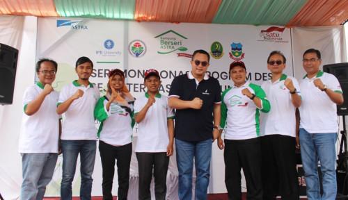 Foto Bantu Genjot Ekonomi Masyarakat, Astra Salurkan Bantuan ke 56 Desa di Jawa Barat