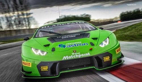 Foto Gandeng Lamborghini, Pertamina Fastron Siap Go Global