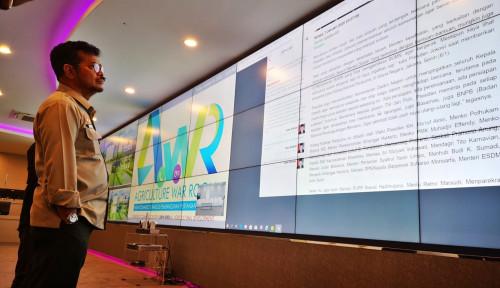 Foto AWR, Langkah Nyata Kementan Bangun Pertanian 4.0