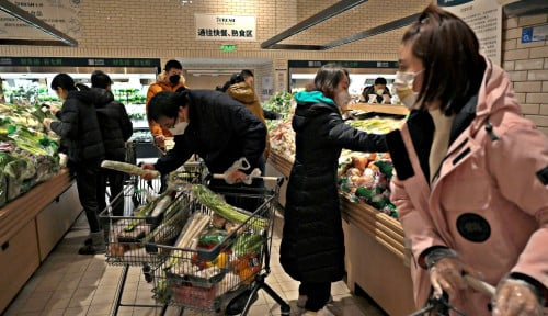 Mirip Hari-hari Pertama Pandemi, Wuhan Terancam Lockdown dan Panic Buying Merajalela