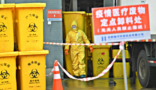 Foto Taiwan Konfirmasi Kematian Warganya Akibat Corona