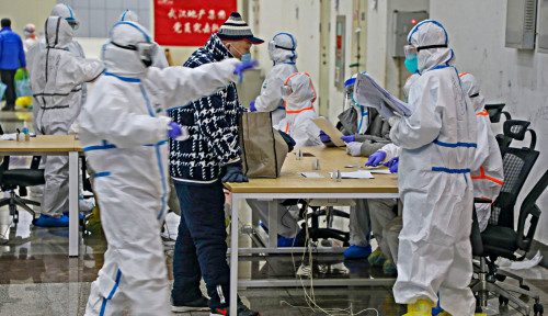 Foto Laporkan 571 Kasus Baru, Infeksi Corona Covid-19 di Korsel Tembus 2.000 Lebih