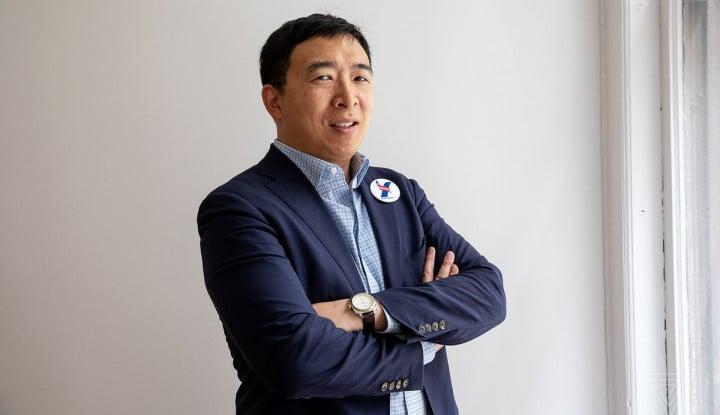 Pengusaha Andrew Yang Mundur dari Bursa Pilpres AS 2020 - Warta Ekonomi