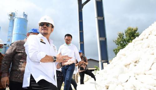Foto Syahrul Yasin Limpo Masuk Deretan Menteri Berkinerja Kinclong
