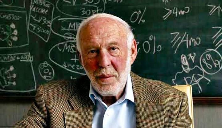 sosok pendiri renaissance technologies, profesor matematika berharta rp302 triliun