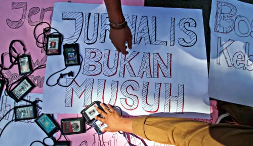 Foto Omnibus Law Mau Jadi Predator Pers, ini Reaksi Dewan Pers