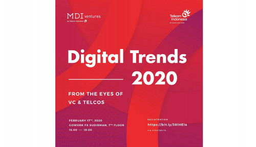 Foto Ngobrol Perspektif Tren Pasar Digital di 'Digital Trends 2020 from The Eyes of VC's and Telcos'