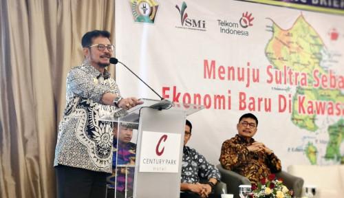 Foto Mentan SYL: Pertanian Sultra Kekuatan Ekonomi Indonesia Timur