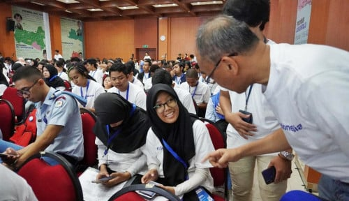 Foto Tancap Gas, BPS Sosialisasikan SP 2020 ke Milenial