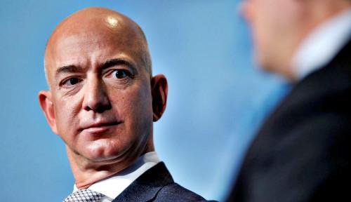 Foto UMKM AS Meringis: Bisa Gak Jeff Bezos Libur Sehari Aja?