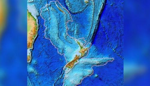 Foto Pembentukan Cincin Api Pasifik Bisa Diketahui dari Benua Bawah Laut Purba Ini