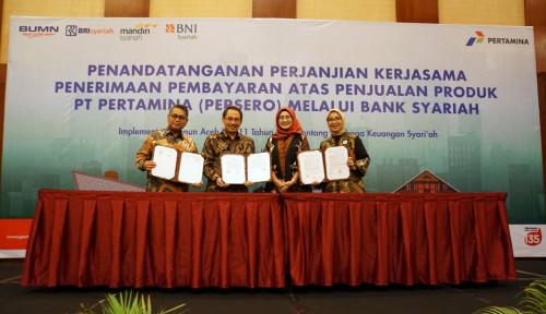 Foto Konsumen Pertamina Bisa Bertransksi Lewat 3 Bank Syariah Ini