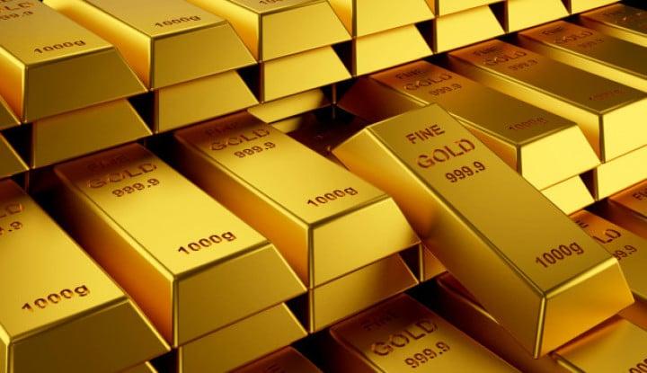 Gak Ada Kompak-Kompaknya! Giliran Emas Global Meroket, Harga Emas Antam Malah Terperosok!