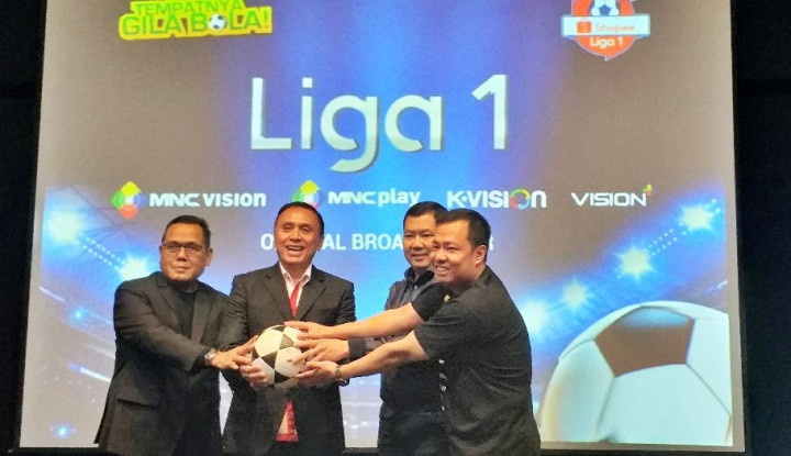 MNC Group Resmi Siarkan Liga Indonesia 2020 - Warta Ekonomi