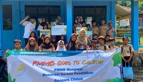 Foto Di Geopark Ciletuh, Jamkrindo Edukasi Gaya Hidup Hijau